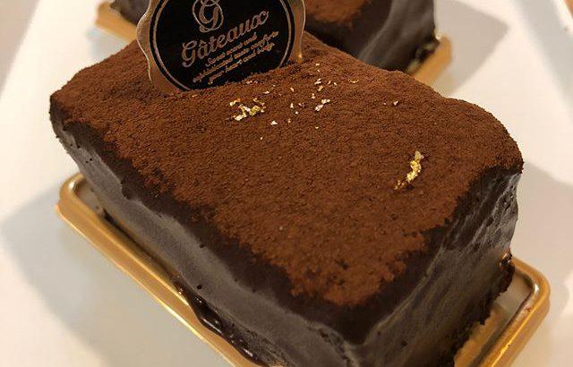 こんにちは️まだまだ暑い日が続きますが、暑さに負けず頑張って行きましょう.店頭には幻の#ガトーショコラ が並びました♀️今までは一本での販売でしたが、嬉しいカットサイズです(^^)この機会にぜひご賞味ください.#新潟 #長岡 #ケーキとパンのお店 #リェヴル #ガトーショコラ #金箔 #チョコ #lievre #cake #bakery #chocolate